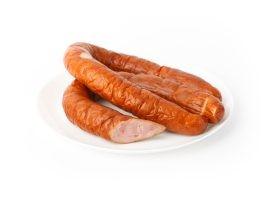 Колбаса варено-копченая из мяса птицы «Дубовая из индейки»