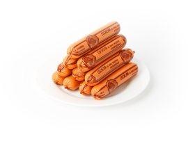 Сосиски вареные из мяса птицы «Юбилейные по-островецки»